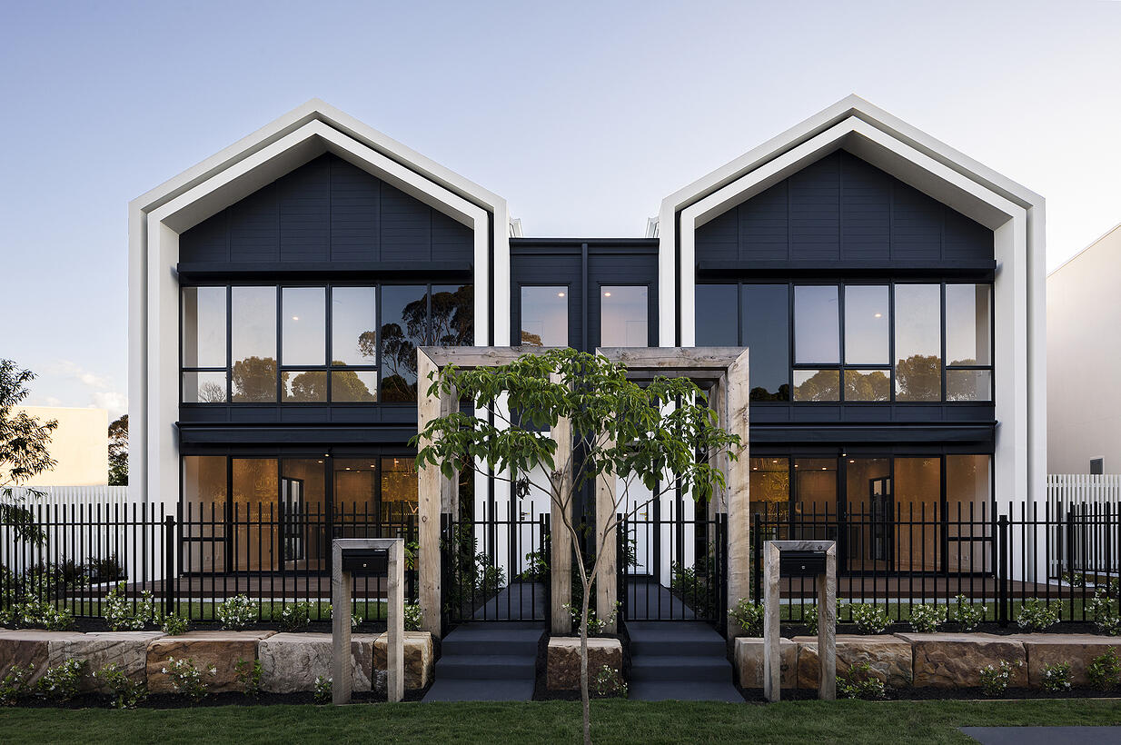 Residents reap the benefits of Hebel in stylish Sydney townhouses