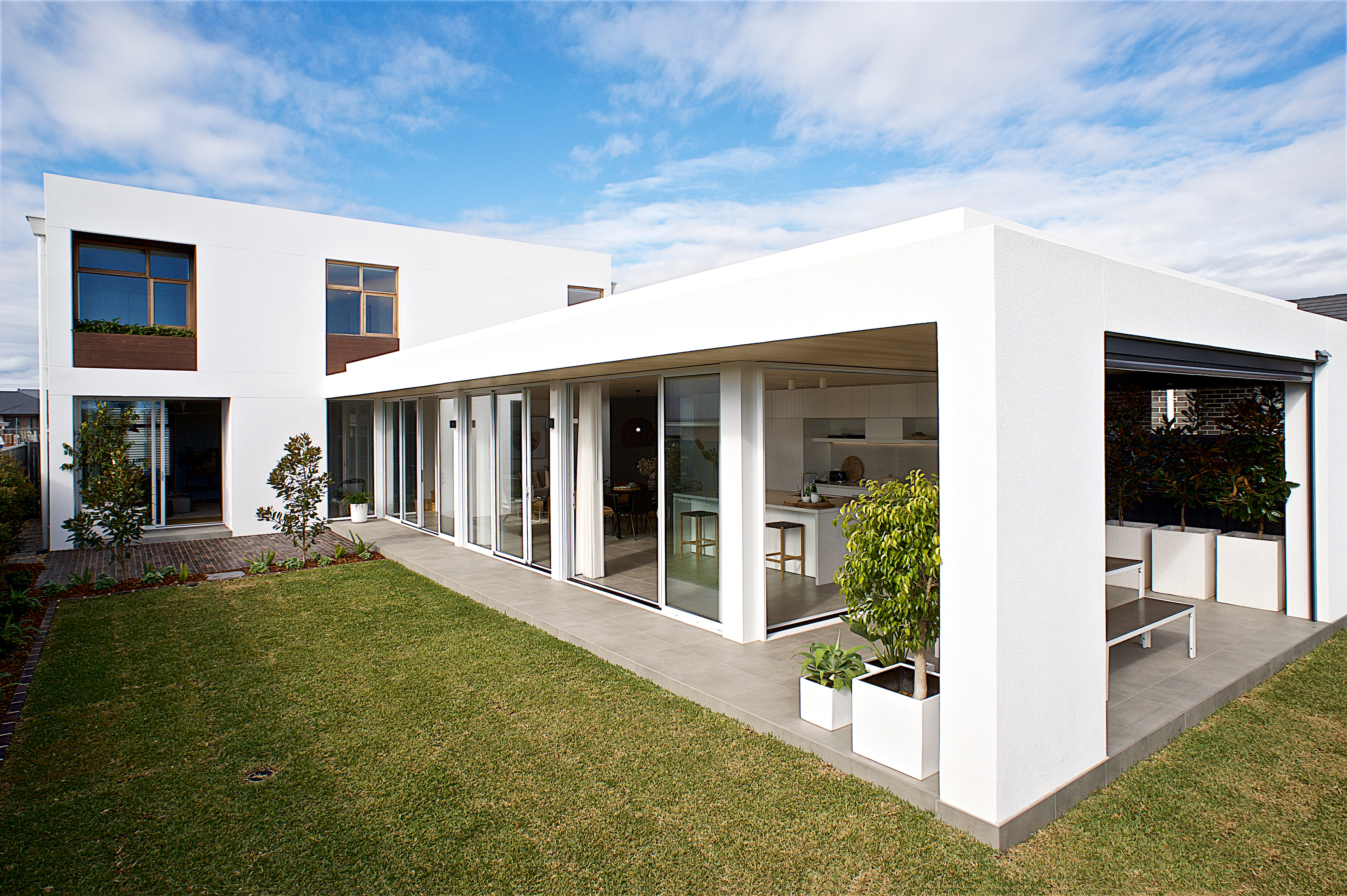It's a wrap! Winning home design achieves the ideal look ... Ideal House Design on good house design, field house design, linear house design, concrete home house design, inside the house design, better house design, haute house design, the best house design,