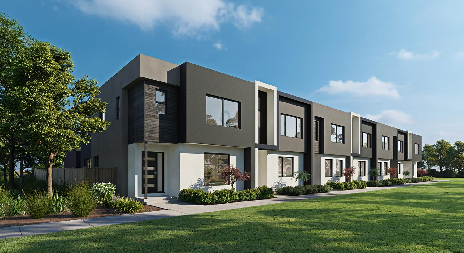 Nostra Homes townhouse residents will enjoy the benefits of Hebel